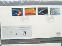 1986 ROYAL MAIL HALLEYS COMET SET OF 4  FIRST DAY COVER