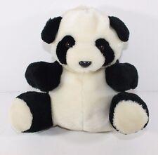 Plush Panda bear Converts to Globe Stuffed Animal lovey Pocket to hide trinkets