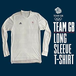 UNISEX ADIDAS TEAM GB TOKYO 2020 OLYMPIC ATHLETE Technical L/S T-Shirt 46/48 XL