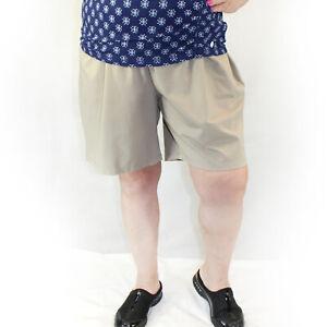 Catherine Suprema Beige Plus Size Pockets Short 4X, 30/32 W