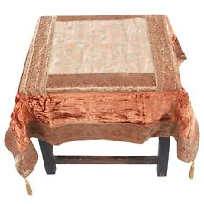 Silk Runner Tapestry Table Cover Brocade Bed Flag Tableware Tablecloths