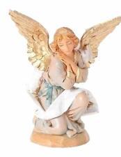 Fontanini 5 Inch Scale Kneeling Angel Figurine by Roman New In Box