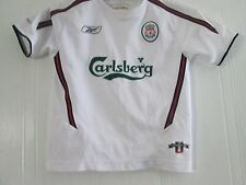 "Liverpool 2003-2004 Away Football Shirt Size 26-28"" chest kids ynwa /41344"