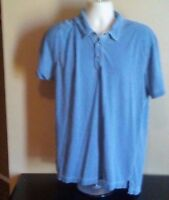 MEN'S XL BLUE POLO CASUAL SHIRT.