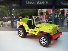 '15 MATCHBOX 1943 JEEP WILLYS LOOSE 1:64 SCALE JEEP SERIES