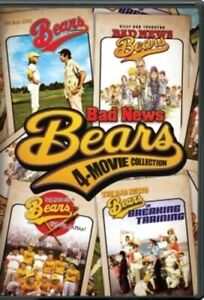 The Bad News Bears: Four-Movie Collection (DVD, 2017, 4-Disc Set) NEW