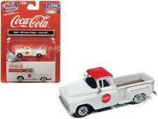 "1955 CHEVROLET PICKUP TRUCK ""COCA COLA"" WHITE 1/87 HO CLASSIC METAL WORKS 30559"