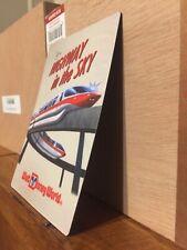 Walt Disney World Monorail Fridge Magnet Flexible Polynesian Contemporary