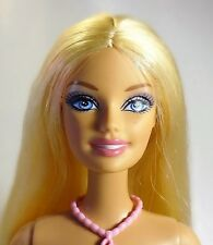 Barbie Blonde Hair Blue Eyes Straight legs - Nude