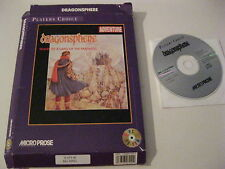Dragonsphere PC game CD-ROM complete Microprose 1995