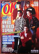 Ok Magazine n°812; Les New Kids on the Block se séparent/ Black Box/ P. Ester