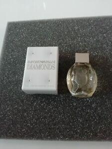 """Parfum Miniatur Armani """"Diamonds"""", EdP 4 ml, OVP"""