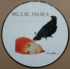 Mylene Farmer, l'autre, LP - 33 tours  picture disc - 1ere edition