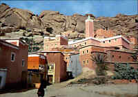 Marokko MAROC Postcard TAFRAOUT Mosquée Moschee color AK ungelaufen ca. 1970/80