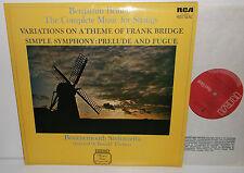 RL 25146 Britten The Complete Music For Strings Bournemouth Sinfonietta Thomas