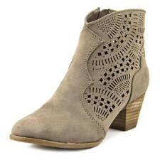 Botas de mujer de color principal gris de ante talla 37