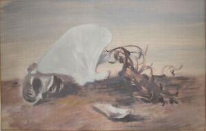 Francesco Di Cocco (1900 - 1989) Gouache painting on paper, Still life