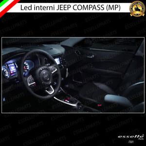 KIT LED INTERNI JEEP COMPASS MP KIT COMPLETO CANBUS 6000K NO AVARIA LUCI