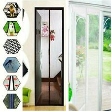 Magnetico Tenda Veranda Porta Netto Schermo insetti Bug Zanzara Fly Insetto Mesh Guard