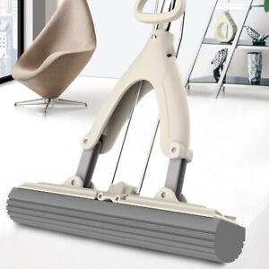 Sponge Mop Super Absorbent Squeeze Telescopic Handle Cleaning Floor Heavy Duty