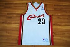 NBA CLEVELAND CAVALIERS BASKETBALL SHIRT JERSEY CHAMPION #23 JAMES SIZE MEDIUM