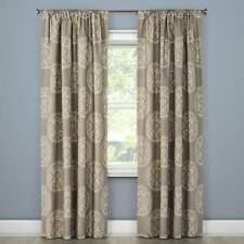Tile Medallion Curtain Panel Gray Stone Threshold Target new 84L New