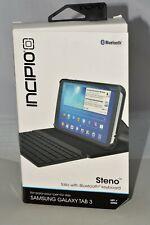 Bluetooth Keyboard for Samsung Galaxy Tab 3 Incipio Steno Folio
