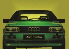 AUDI SPORT QUATTRO CAR CAR POSTER Photo Poster Print Art * All Sizes AB823