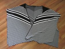 DANNII MINOGUE BEAUTIFUL BLACK AND WHITE, FREE SIZE PONCHO,  EXCELLENT