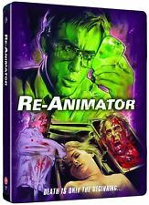 Re-Animator - Limited Edition Blu ray Steelbook NEW SEALED (2 Discs)  Reanimator
