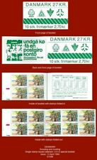 """DENMARK 1984 - """"Scouting and Guiding"""" - set x1 in Special Booklet x10"""