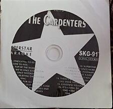 SUPERSTAR  KARAOKE CDG  THE CARPENTERS     1 DISC  16 TRACKS.