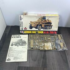 Vintage ESCI German Half Track sd.kfz.250/10 1/72 Scale kit 8051 RARE