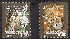 Islas Faroe 2000 Navidad, la profecía, la esperanza, luz, estampillada sin montar o nunca montada/unm