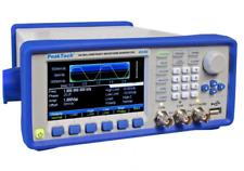 Peaktech P4046 2 Channel Arbitrary Signal Waveform Generator 1hz 160 Mhz