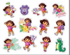 "Dora The Explorer Stickers Decal Sheet Sticker 5.75"" x 4"" Nickelodeon NEW"