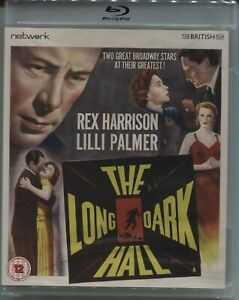 The Long Dark Hall (1951) - New Blu-ray Region B - Rex Harrison, Lilli Palmer