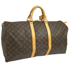 AUTHENTIC LOUIS VUITTON KEEPALL 55 TRAVEL HAND BAG MONOGRAM M41424 AK34174j
