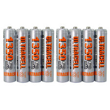 8 AAA 1.2V 1350mAh NiMH Rechargeable Battery Ultracell