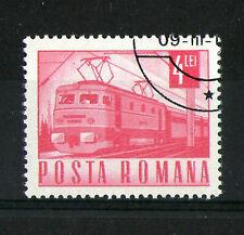 Romania 1967 Electric Locomotive Commemorative Stamp Sg 3528 Vfu