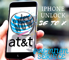 AT&T APPLE IPHONE FACTORY UNLOCK SERVICE ATT 4 4S 5 5C 5S 6 6S 7 7+ plus 8 8+ X