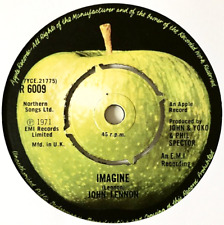 """JOHN LENNON - Imagine (7"""") (VG-/NM)"""