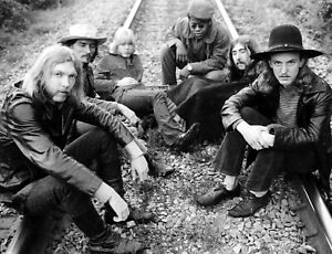 The Allman Brothers 11x14 Poster Print