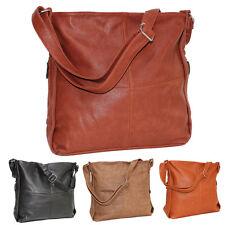 Damentasche Tasche Handtasche Umhängetasche Schultertasche  Kunstleder XL