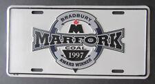 1997 Marfork Bradbury Coal Mining Award Winner Mine Advertising License Plate