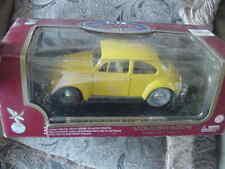 """1:18 Collection Diecast Model """"1967 Volkswagen Beetle"""" Yellow, MIB"""