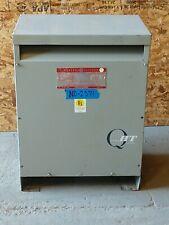 GE 30kva Transformer 3 Phase 480v-208v/120v Delta Wye 460v 440v 220v 2371