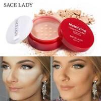 SACE LADY Matte Loose Powder Makeup Face Setting Powder Oil-control Brighten