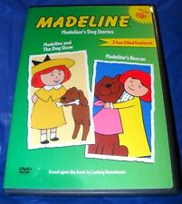 """""""MADELINE'S DOG STORIES""""   DVD 2003   ~VERY GOOD CONDITION~  *FREE SHIPPING*"""