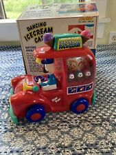 Vintage Dancing Ice Cream Car by Metro (1991) *Tested Works* Red Euc